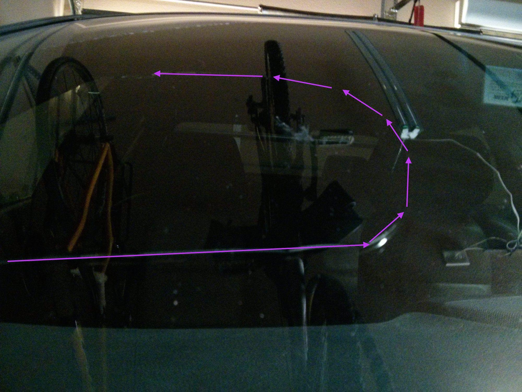 Acura Tl Windshield on Acura 3 2tl 2008