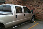 2008 Ford F 250 4 Door Crew Cab Door Glass Rear Passenger Side