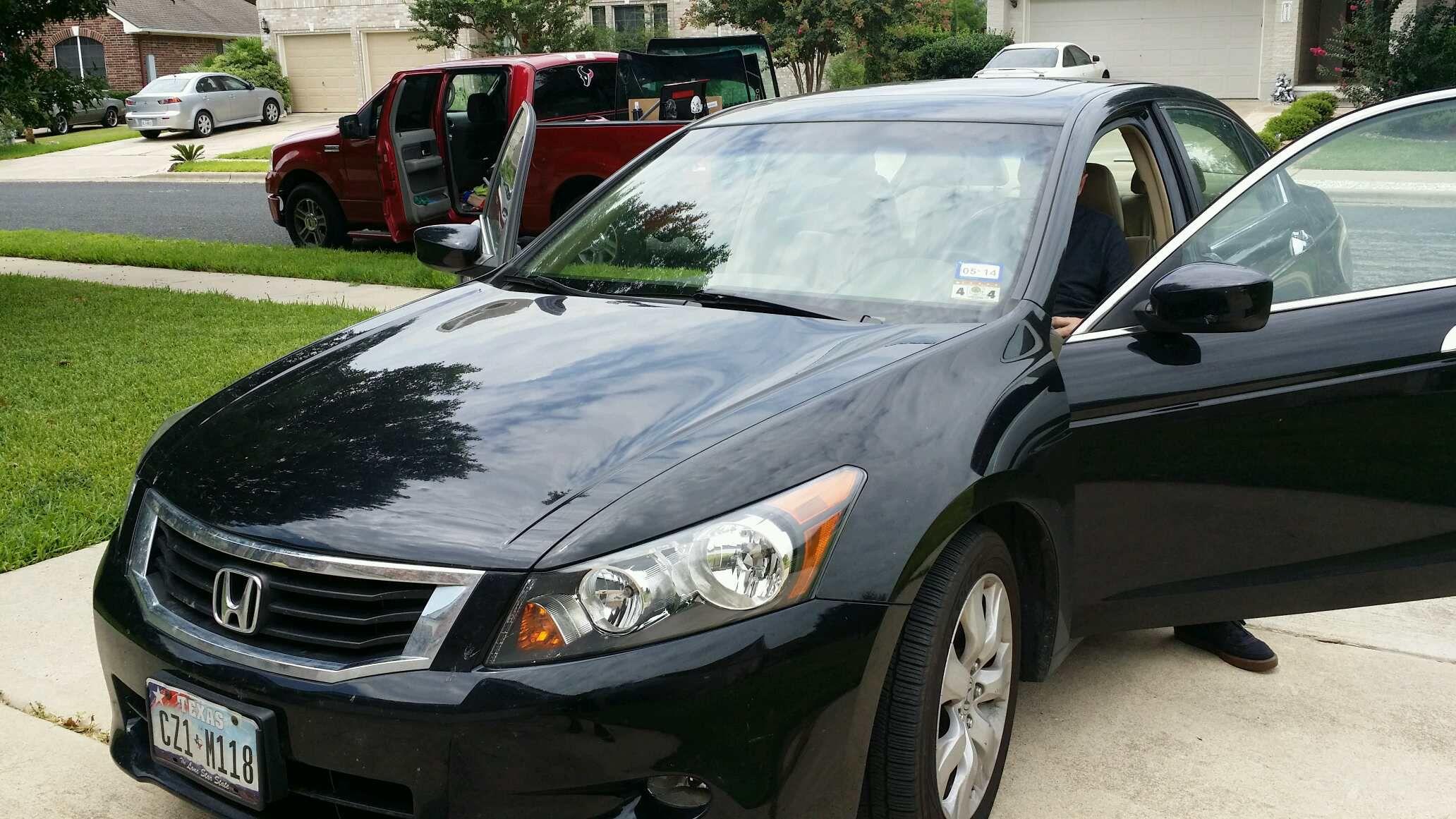 2008 honda accord 4 door sedan windshield. Black Bedroom Furniture Sets. Home Design Ideas
