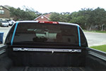 2008 Nissan Frontier Pickup 4 Door Crew Cab Back Glass Stationary Replacement