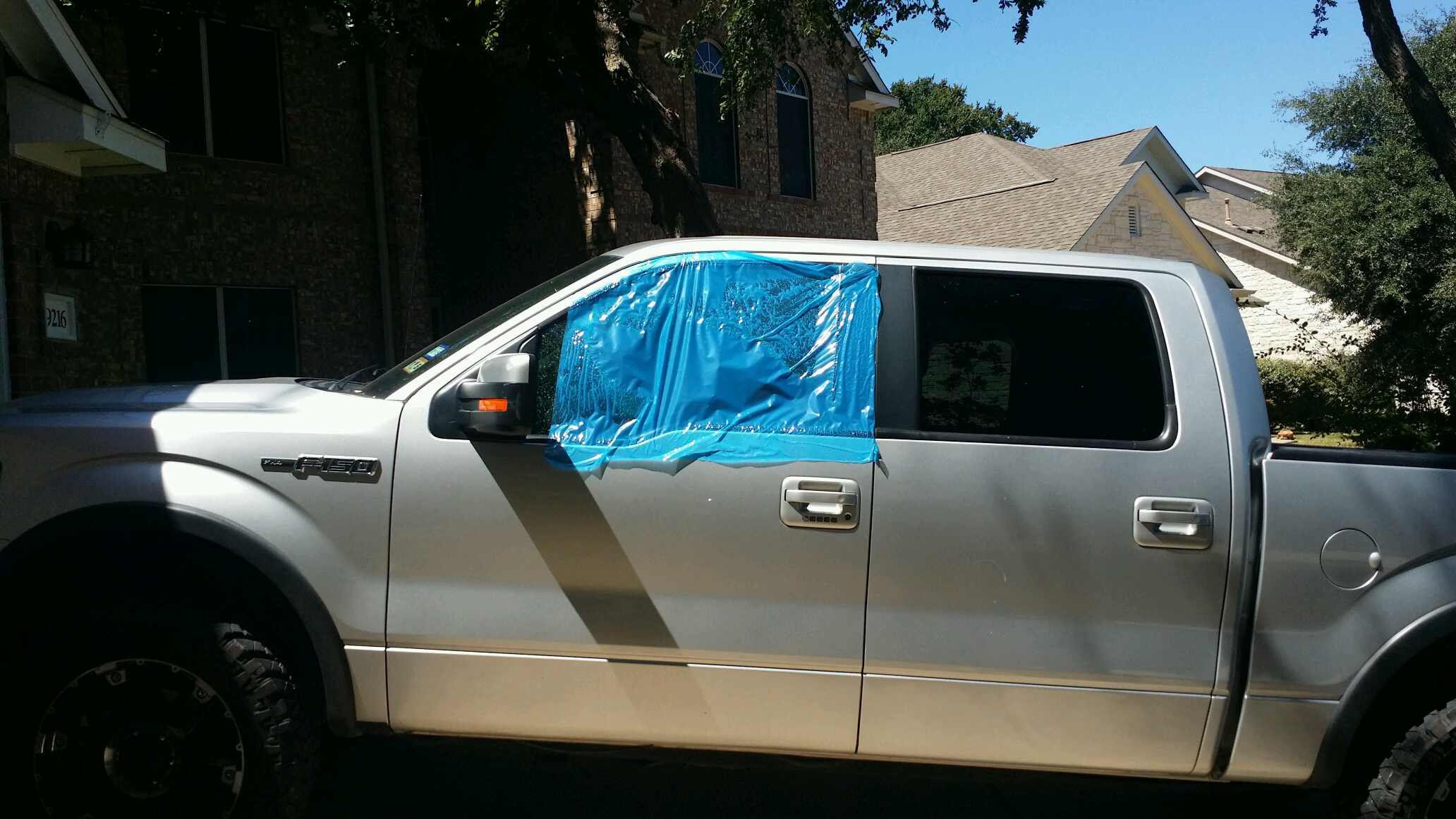 Ford F Door Crew Cab Front Driver S Side Door Glass