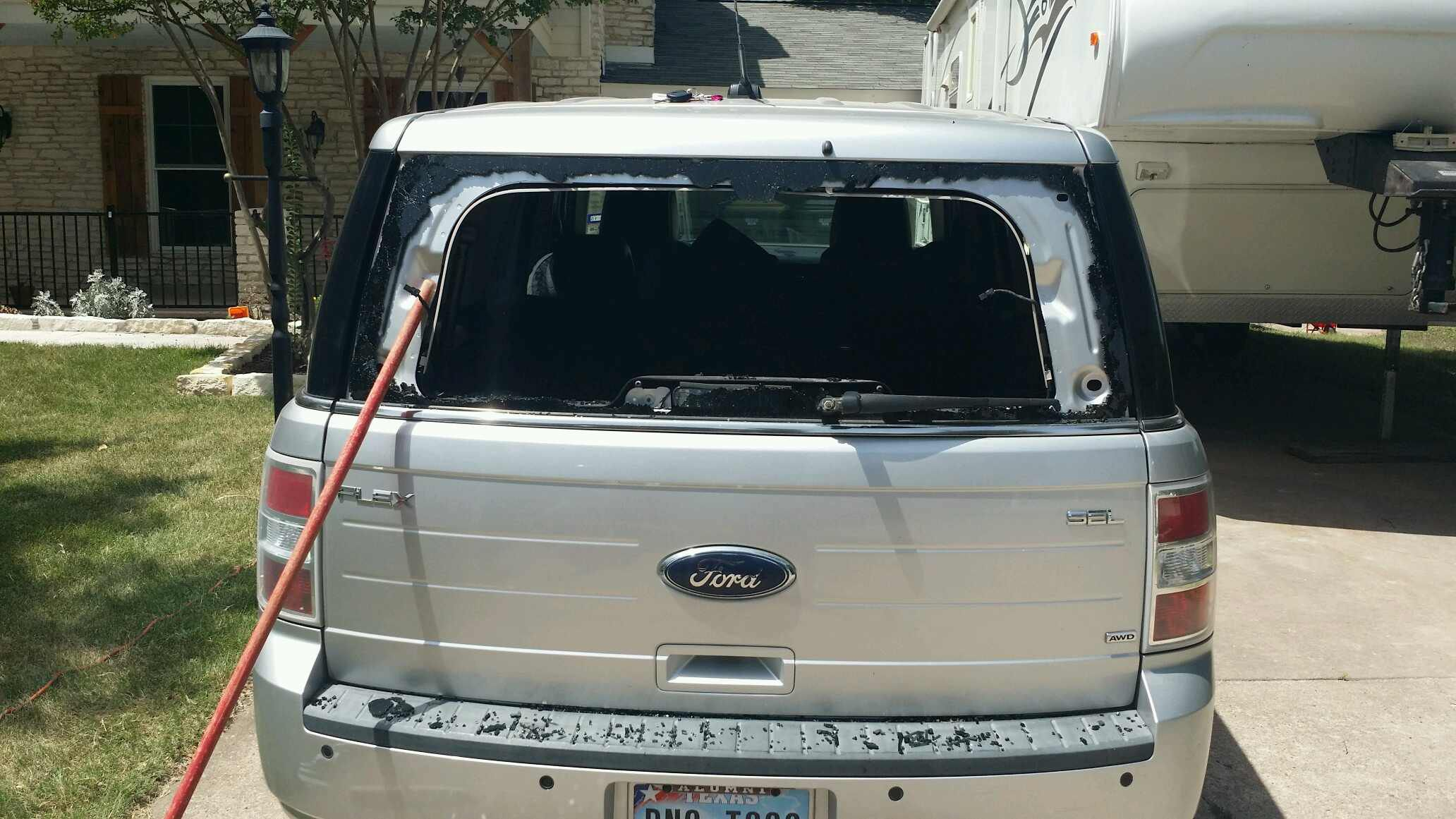 1988 Ford Bronco Rear Window Repair