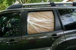 2010 Mitsubishi Endeavor Rear Passenger's Side Door Glass