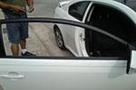 2010 Scion tC Door Glass Front Passenger Side