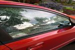 2011 Kia Rio Front Passenger's Side Door Glass