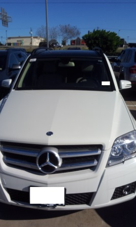 2011 mercedes benz glk350 windshield
