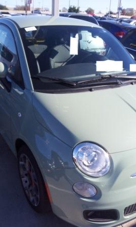 Fiat Windshield