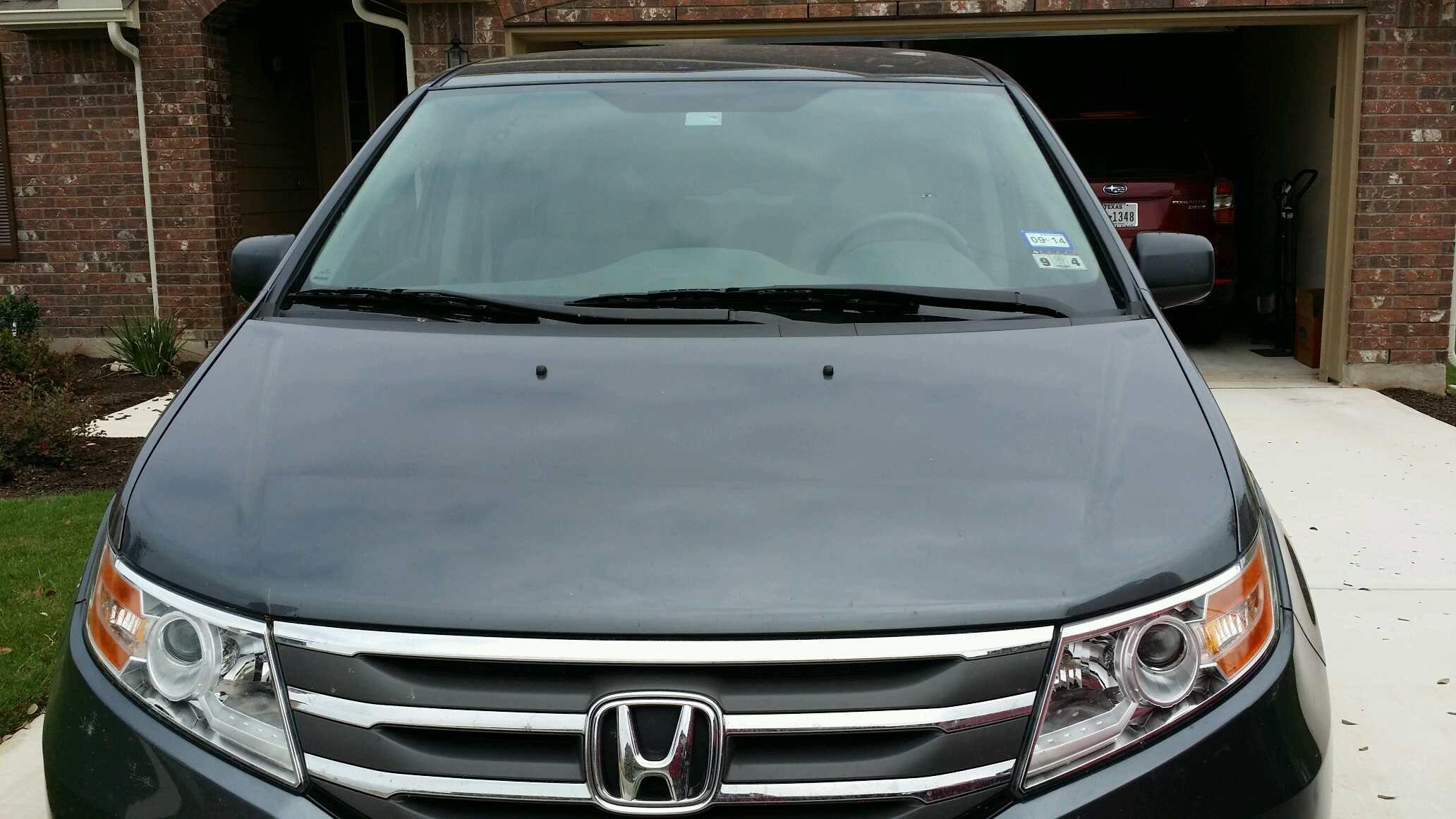 2013 honda odyssey windshield