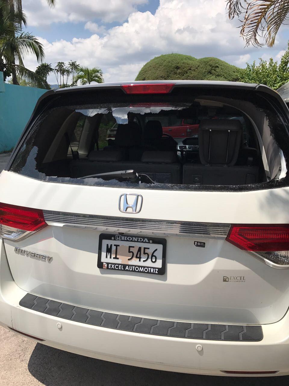 2017 Honda Odyssey Back Gl